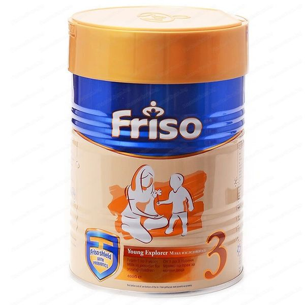FRISO Бебешко адаптирано мляко 3 400г  12м+
